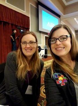 Cari Johnson and Amanda Crecelius