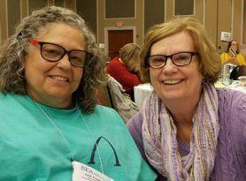 Jodi Tupper and Linda Puls